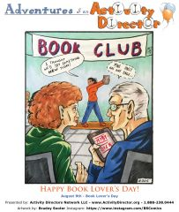 National Book Lovers Day August 9th