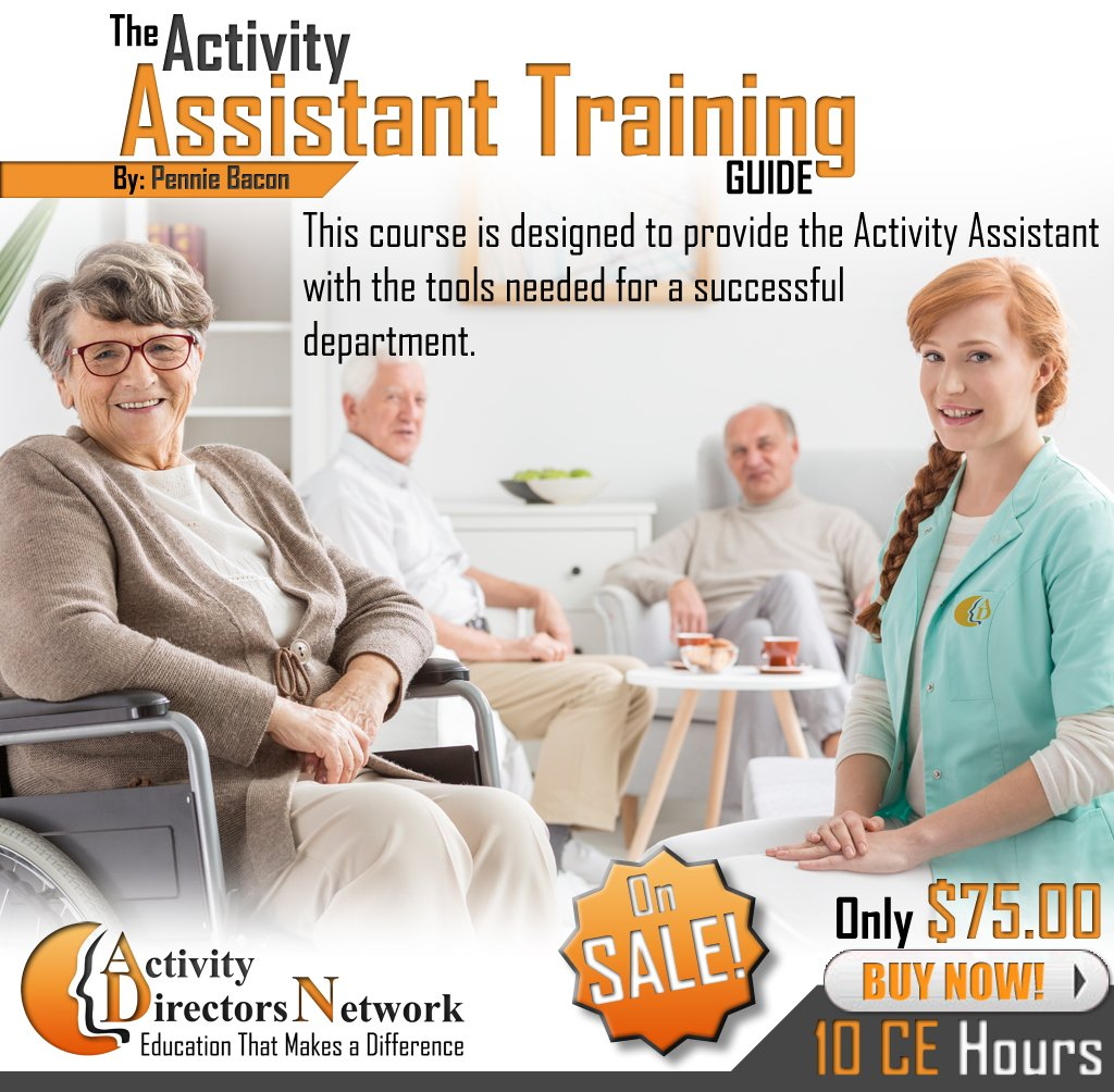 Activity Assistant Training Guide