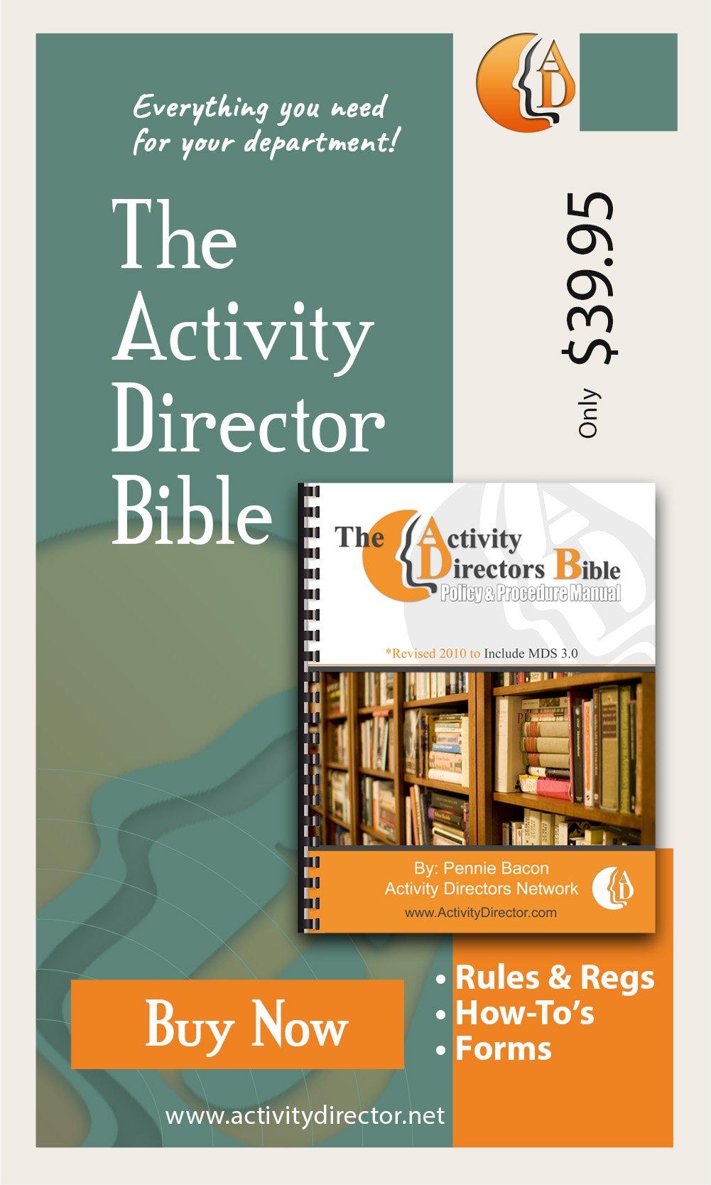Activity Directors Bible OnSale